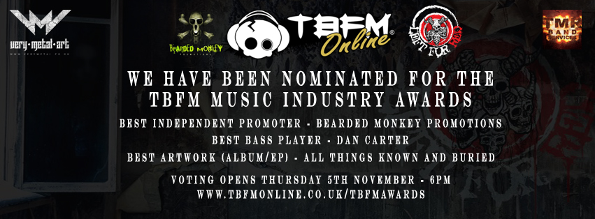 Left For Red – Nominated in the TBFM Music Industry Awards 2015!