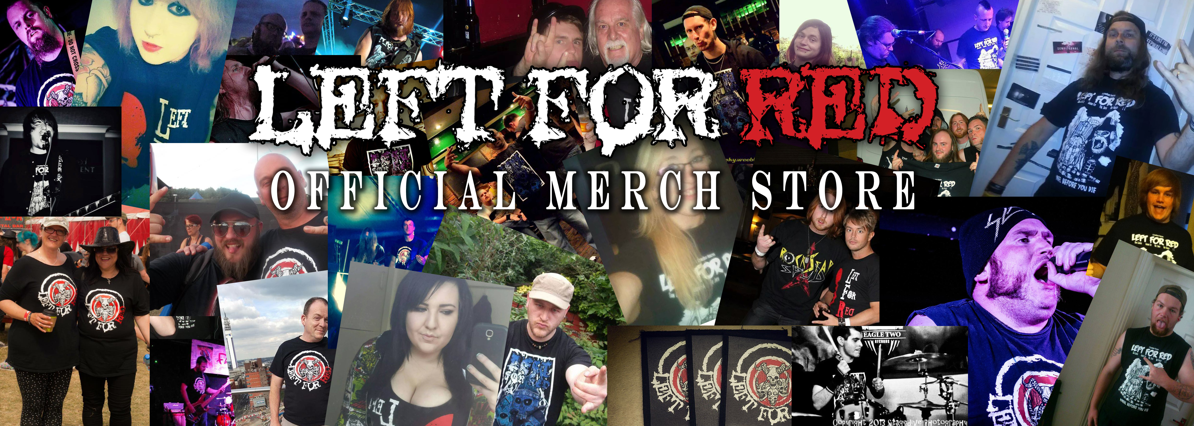 New Left For Red Merch Store now open